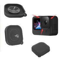 Silikon Linse Schutzkappe für Gopro Hero 9 Black Camera Bildschirmschutz Zubehör