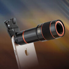 HD Clip-on 12x Optical Zoom Universal Telescope Camera Lens Cell Phone iPhone FO