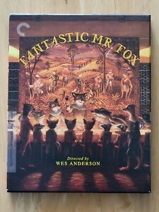 Fantastic Mr. Fox (Criterion Collection) (Blu-ray, 2009)
