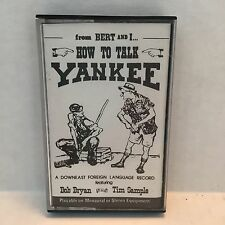How to Talk Yankee Bert & I Downeast Maine Language Cassette Tim Simple Bryan