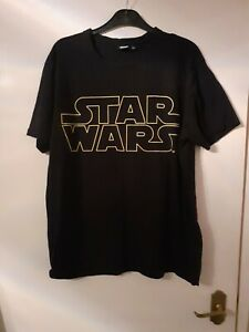 Star Wars Men's T-Shirt Size L