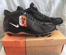 NEW NIKE ZOOM AIR TORQUE D BLACK HIGH TOP FOOTBALL CLEATS SIZE 18 MENS