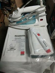 POWERGLIDE ROWENTA HOT STEAM & DRY IRON WITH CLEANER & EXTRA