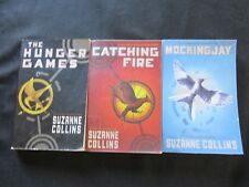 The Hunger Games Trilogy by Suzanne Collins in Paperback Set of 3 Books Complete