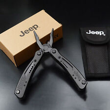 Hot JEEP Outdoor Multi Tools Set Pliers Knife Stainless Steel Camping Screwdrive