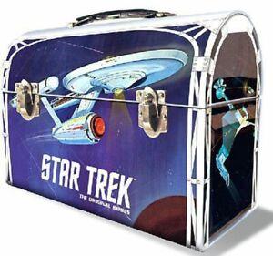 Star Trek U.S.S Enterprise TOS Lunchbox Tin Edition
