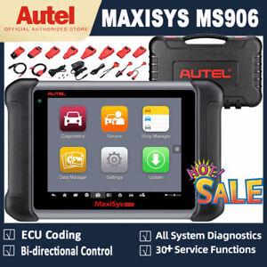Autel MaxiSys Car OBD2 Diagnostic Tool Code Reader Scanner ECU Key Coding TPMS