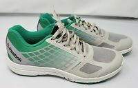 Womens Size 7.5 Reebok 3D Fuse Frame White/Red/Green New!
