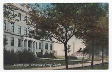 Vintage 1912  Science Hall University of North Dakota Grand Forks  ND Postcard