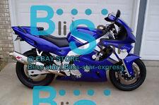 Blue Glossy  Fairing Bodywork Fit Yamaha YZF600R 98 99 00 01 1997-2007 025 A3