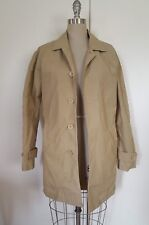 LACOSTE WOMEN'S TRENCH COAT JACKET WITH REMOVABLE VEST LINER KHAKI SIZE 3