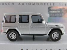 Busch 51456 Mercedes-Benz G-Klasse (2008) in silbermetallic 1:87/H0 NEU/OVP