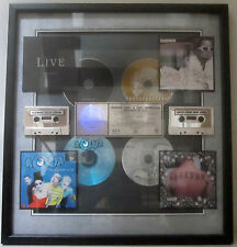 Mary J. Blige - Sublime - Live - Aqua - RIAA Platinum Award Plaque [1997] - NM