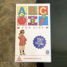 RARE - ABC For KIDS Video Hits VOLUME 2 VHS Tape PAL ~ 1992