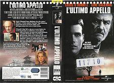 L'ULTIMO APPELLO (1996) vhs ex noleggio