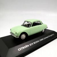 IXO 1:43 Citroen 2CV Bijou 1960 United Kingdom Toys Car Diecast Club Models