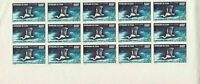 Chad 1971 Mint Never Hinged Air Imperf  Stamps Part Sheet Cat 900+ ref 22183