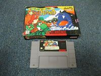 Super Mario World 2 Yoshi's Island with Box