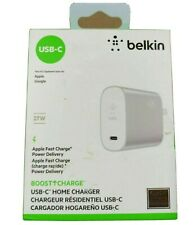 New Belkin Boost Charge 27W USB-C + 12W Home Wall Charger - Ships FREE
