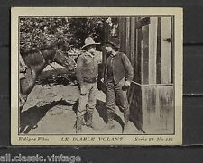 Le Diable Volant Vintage Movie Film Star Trading Photo Card 23 #181
