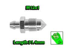 M12x1 HEX13 L31.4mm BLEEDER NIPPLE SCREW (BRAKE CALIPER DRUM OR CLUTCH)