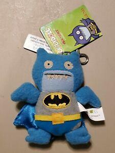 "Gund Uglydoll Ice-bat Batman 4"" Backpack Clip"