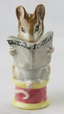 "Beatrix Potter ""Tailor of Gloucester""-BP3b Beswick Royal Doulton Figurine NEW!"