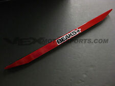 BEAKS Rear Lower Tie Bar RED FOR HONDA Civic 88-95/FOR ACURA Integra 90-01
