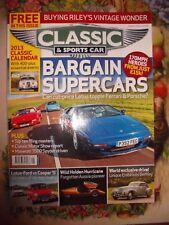 CLASSIC & SPORTS CAR 1/13 MASERATI LOTUS CORTINA HOLDEN BENTLEY ESPRIT DKW RILEY