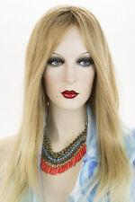 Jon Renau Strawberry Tipped Pale Blonde  Med Brown Blonde Long Premium Remy Wigs