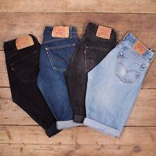 Mens Vintage Levis 501 Denim Shorts Grade A Jeans Size 30 32 33 34 36 38 40 42