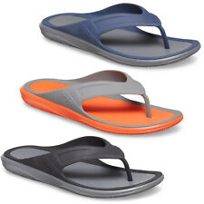 Crocs Swiftwater Wave Flip Flops Beach Summer Holiday Toe Post Mens Thong Sandal
