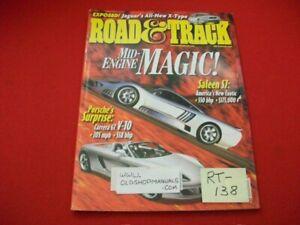 ROAD & TRACK MAGAZINE-DEC 2000-NEW CAR MODELS,GREAT ARTICLES,ADS,PHOTOS,RACING