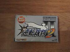 Gyakuten Saiban 2 (Best Price!) GameBoy Advance Japan Import