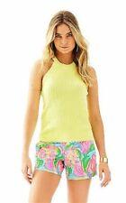 NWT Lilly Pulitzer Pineapple Fizz Estee Sweater Tank, Sz Medium, $78