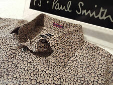 """PAUL SMITH Mens Shirt🌍 Size 15.5"""" (CHEST 44"""")🌎 RRP £95+🌏 FLORAL LIBERTY STYLE"""