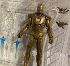 Marvel Legends Iron Man Gold Armor Mark XXI Fresh From Package !