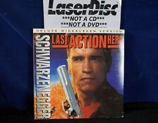 *LASERDISC* THE LAST ACTION HERO Arnold Schwarzenegger/widescreen (5+=Free USPS)