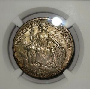 1935 S 50C Silver Commemorative San Diego NGC MS63