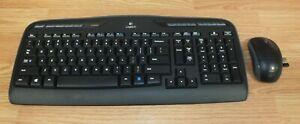 Genuine Logitech (Y-R0009) K330 Wireless Keyboard & Mouse Combo **READ**