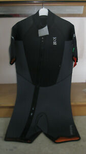 Fourth Elements Helios shorty wetsuit, black, mens - various sizes