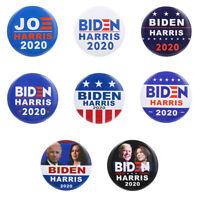 "2020/"" BUTTON  Large 2 1//4/"" pin pinback badge  VOTE  DEMOCRAT /""BIDEN NO MALARKEY"