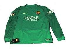 Nike Trikot Shirt Barcelona L/S 2016 2017 grün langarm DriFit XL