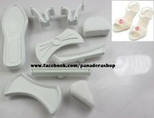 Lady Women Shoes Sandal High Heels Fondant Gum Paste Cutter Set Mold