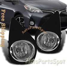 Toyota Yaris Hatchback 2/4DR Fog Bumper Light Lamp W/Switch Harness FL7013