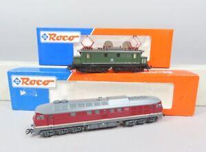 H0 Lokomotiven Wechselstrom Roco 69614 + 69430 (V 87213)