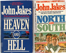 Complete Set Lot of 3 North and South Trilogy books by John Jakes (Historical)
