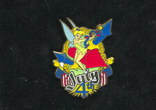 3549 DISNEY LE 250 TINKER BELL JULY 4TH PIN
