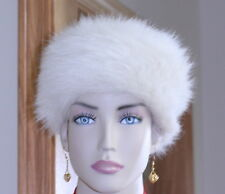 Everitt's Hat Vintage Woman's Faux Fur Costume Winter ivory USA vary styles
