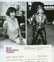BARBARA MURRAY SMILING BELINDA LANG THE BRETTS II ORIGINAL 1989 PBS TV PHOTO